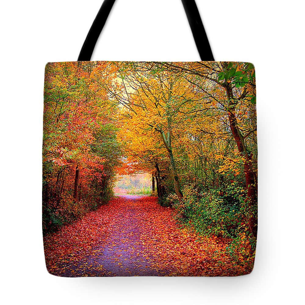 Autumn Tote Bag featuring the photograph Hope by Jacky Gerritsen