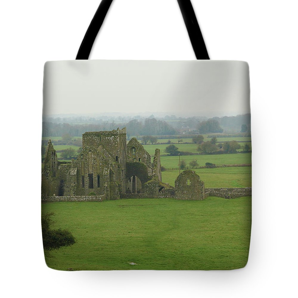 Hore Abbey Tote Bag featuring the photograph Hore Abbey by Marie Leslie