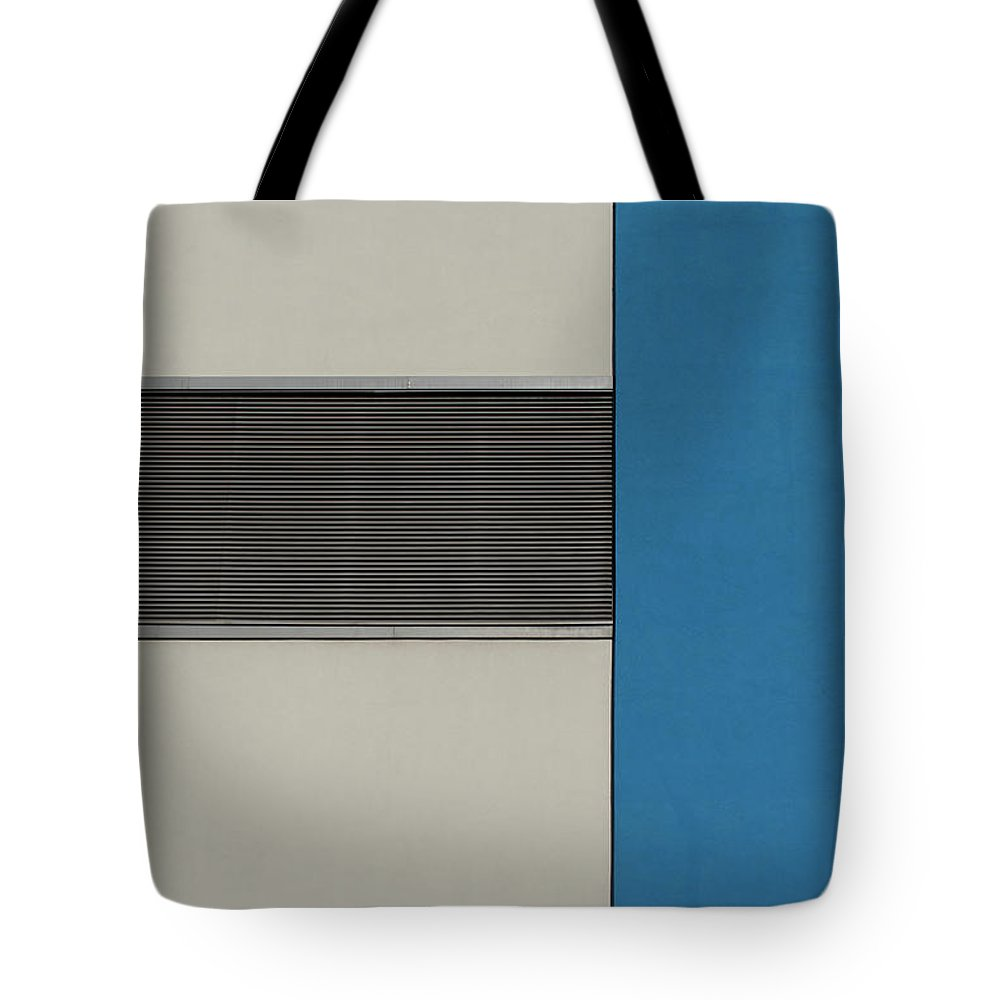 Urban Tote Bag featuring the photograph Horizontal Grille by Stuart Allen