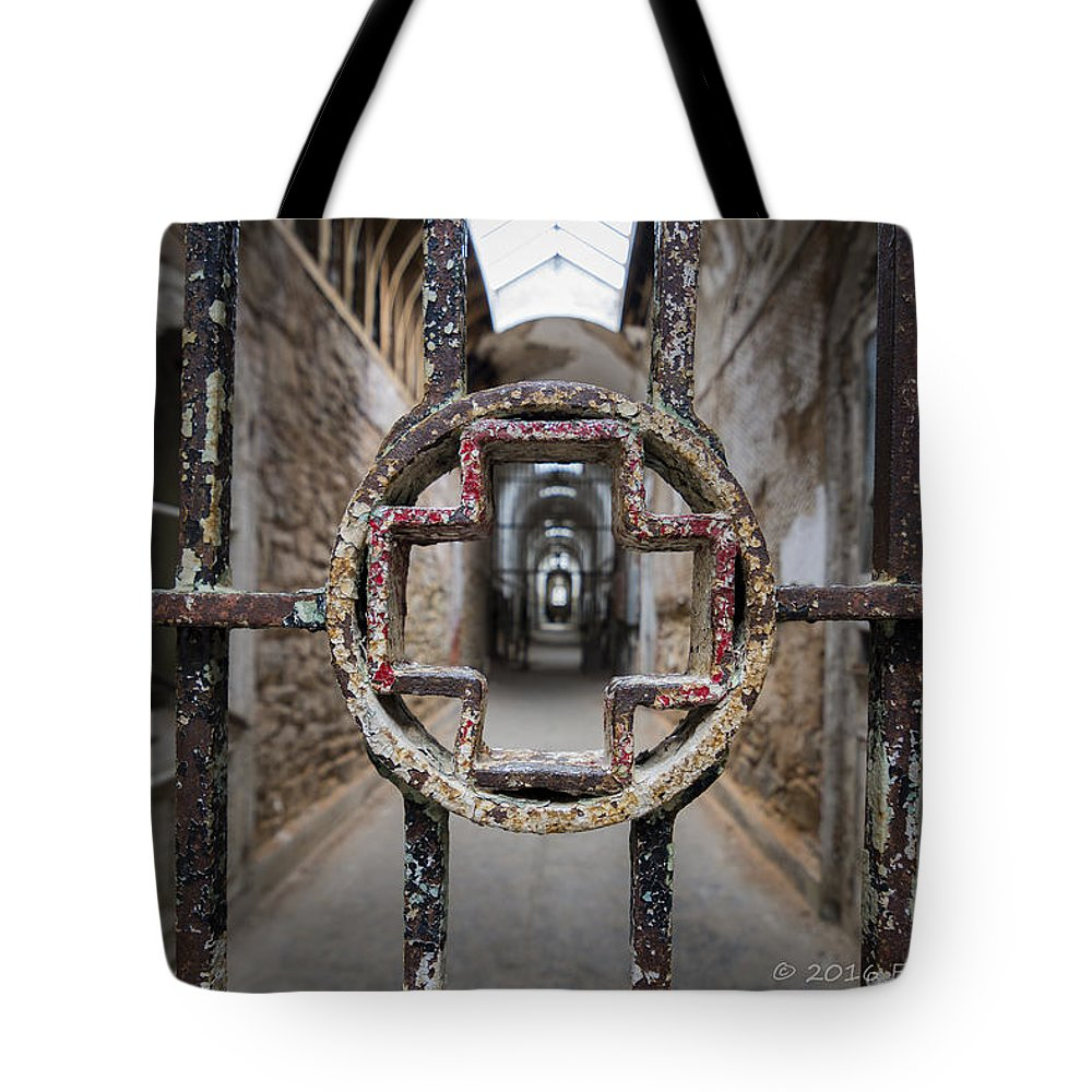 Eastern State Prison Tote Bag featuring the photograph Hospital Ward by Eric Thacke