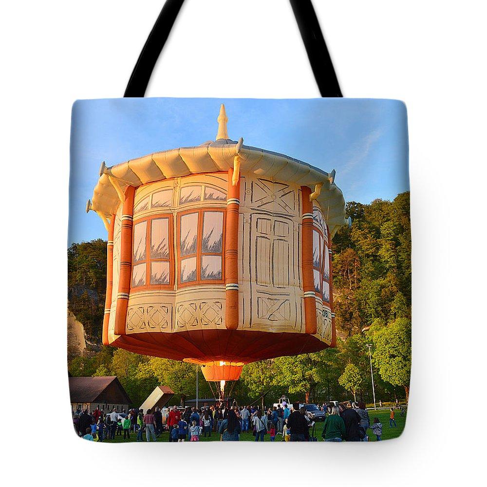 Hot Tote Bag featuring the photograph Hot Air Ballon 3 by Felicia Tica