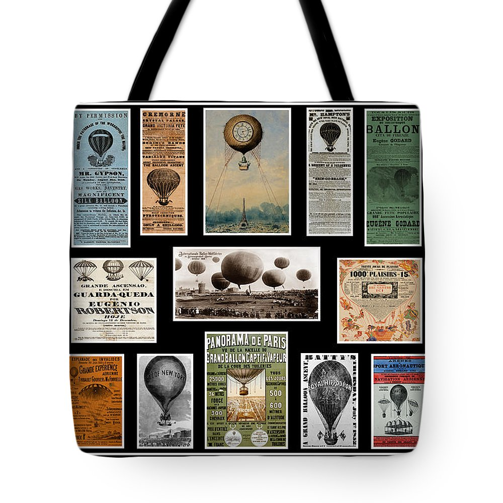 Hot Air Balloons Tote Bag featuring the photograph Hot Air Balloon Posters by Andrew Fare