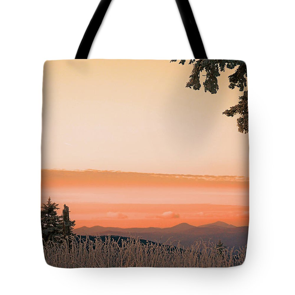 Landscape Tote Bag featuring the photograph Hot Snow by Itai Minovitz