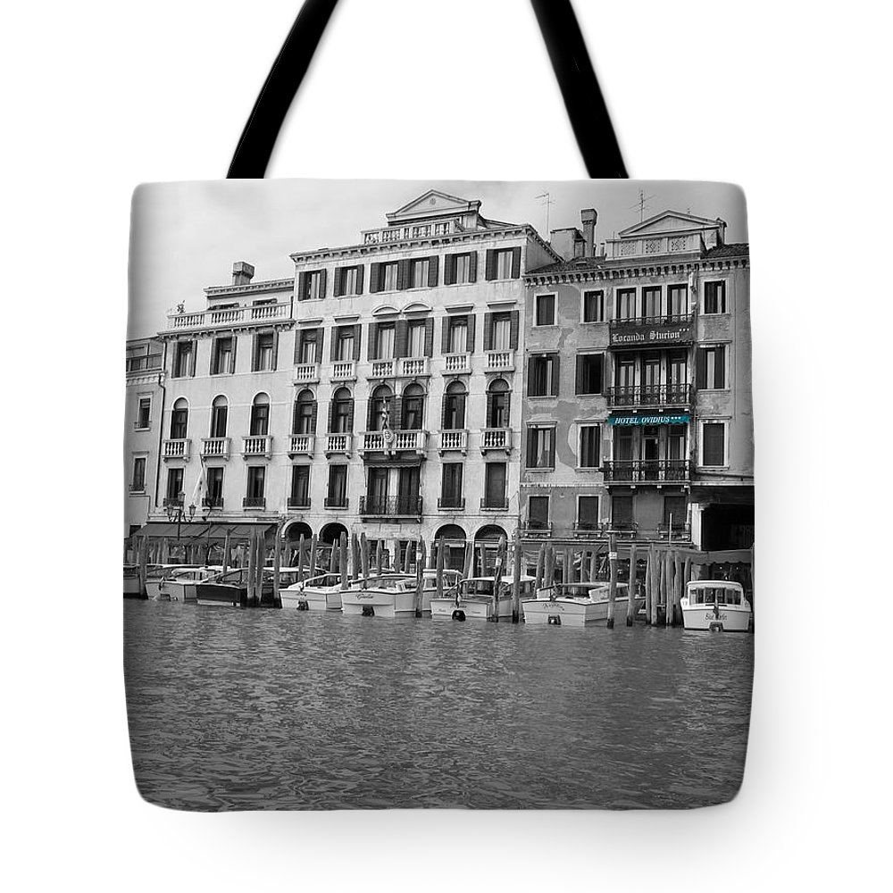 Cityscape Tote Bag featuring the photograph Hotel Ovidius II by Dylan Punke