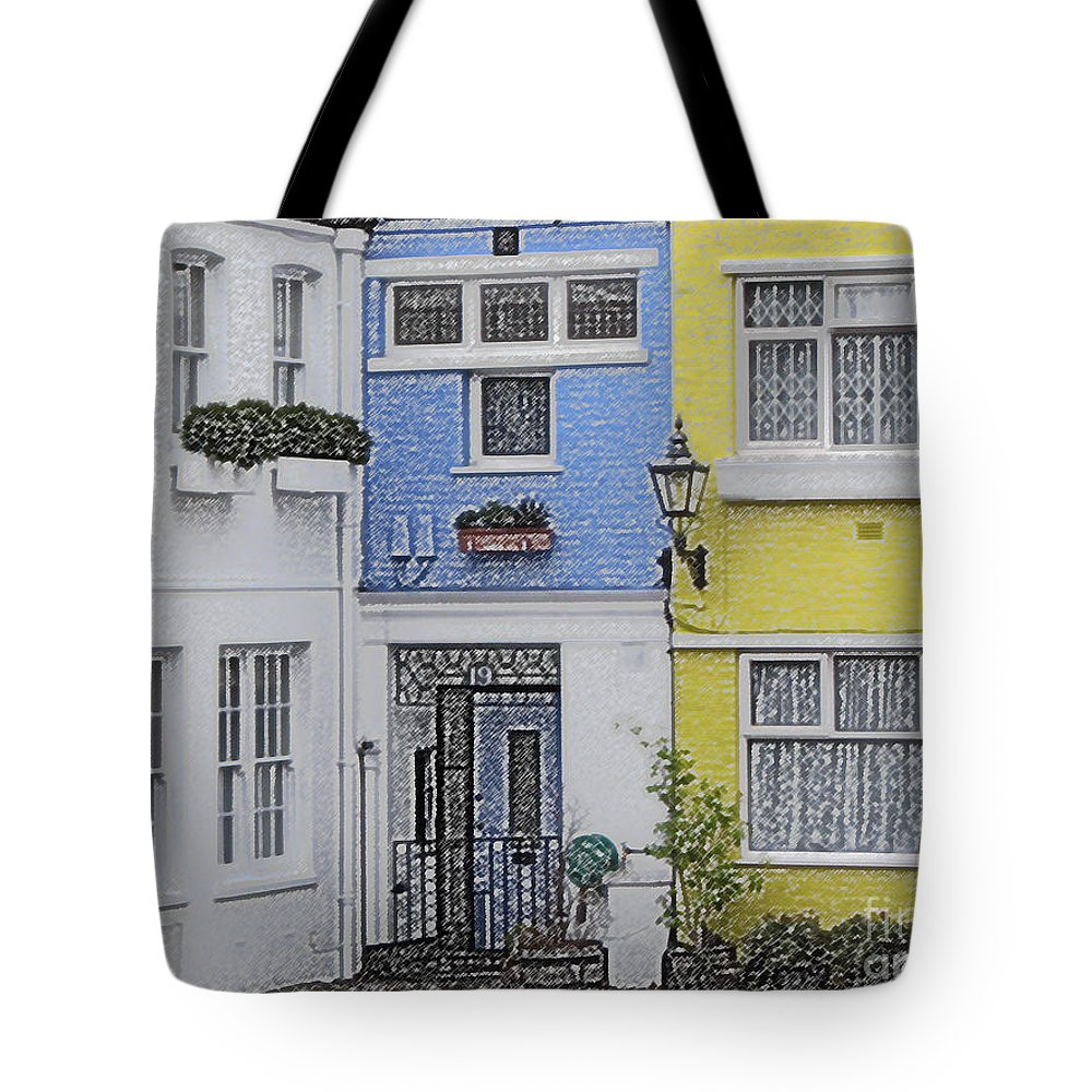 House Tote Bag featuring the photograph Houses by Amanda Barcon