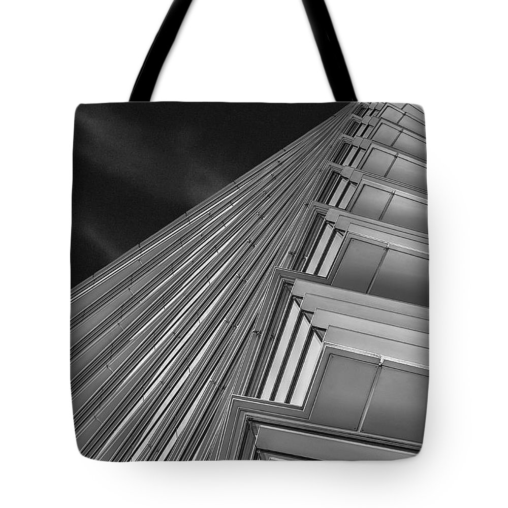Houston architecture tote bag featuring the photograph houston neurology research by norman gabitzsch