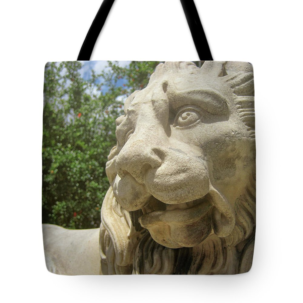 Lion Tote Bag featuring the photograph How Loud Is A Lion by JAMART Photography