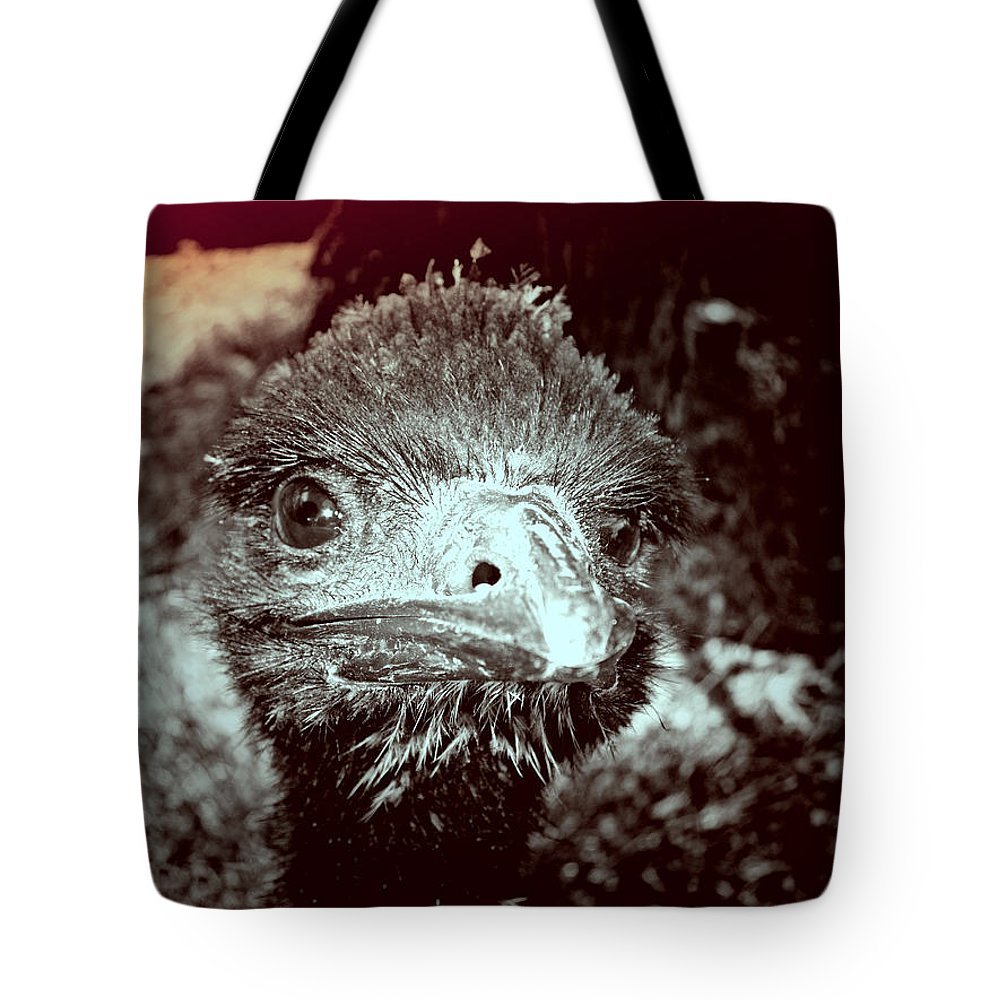 Emu Tote Bag featuring the photograph Howdy Doody by Douglas Barnard