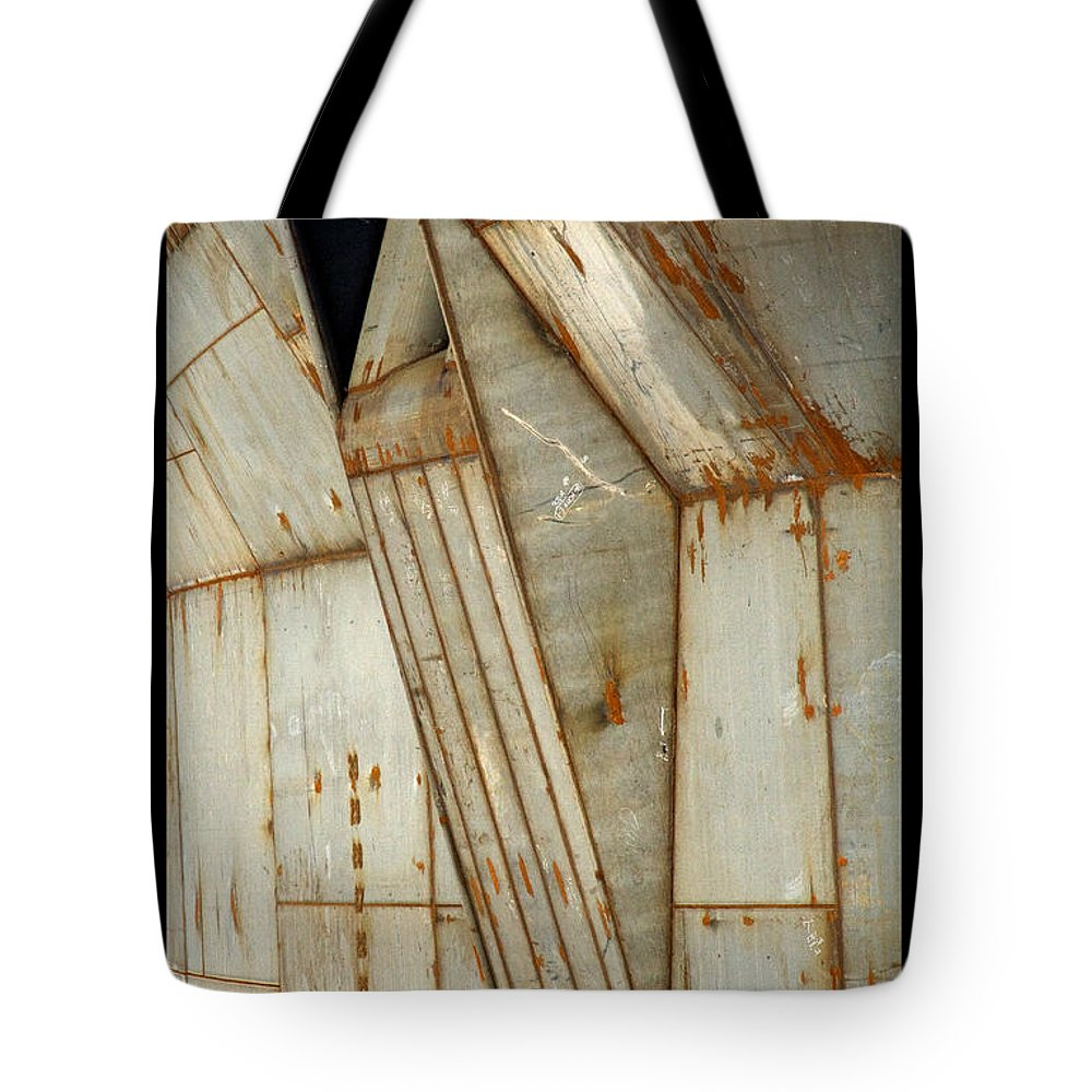 Hull Tote Bag featuring the photograph Hull Detail by Tim Nyberg