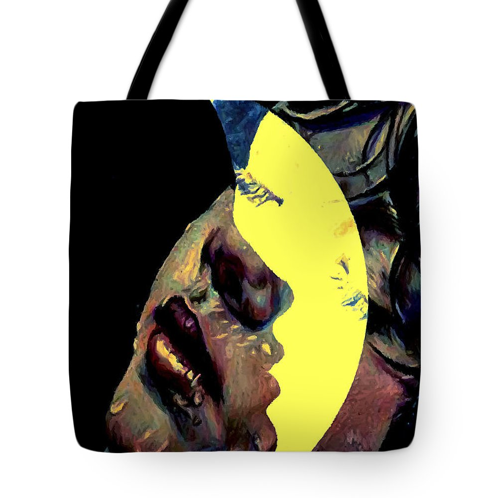 Love Tote Bag featuring the digital art Human Desires by Bliss Of Art