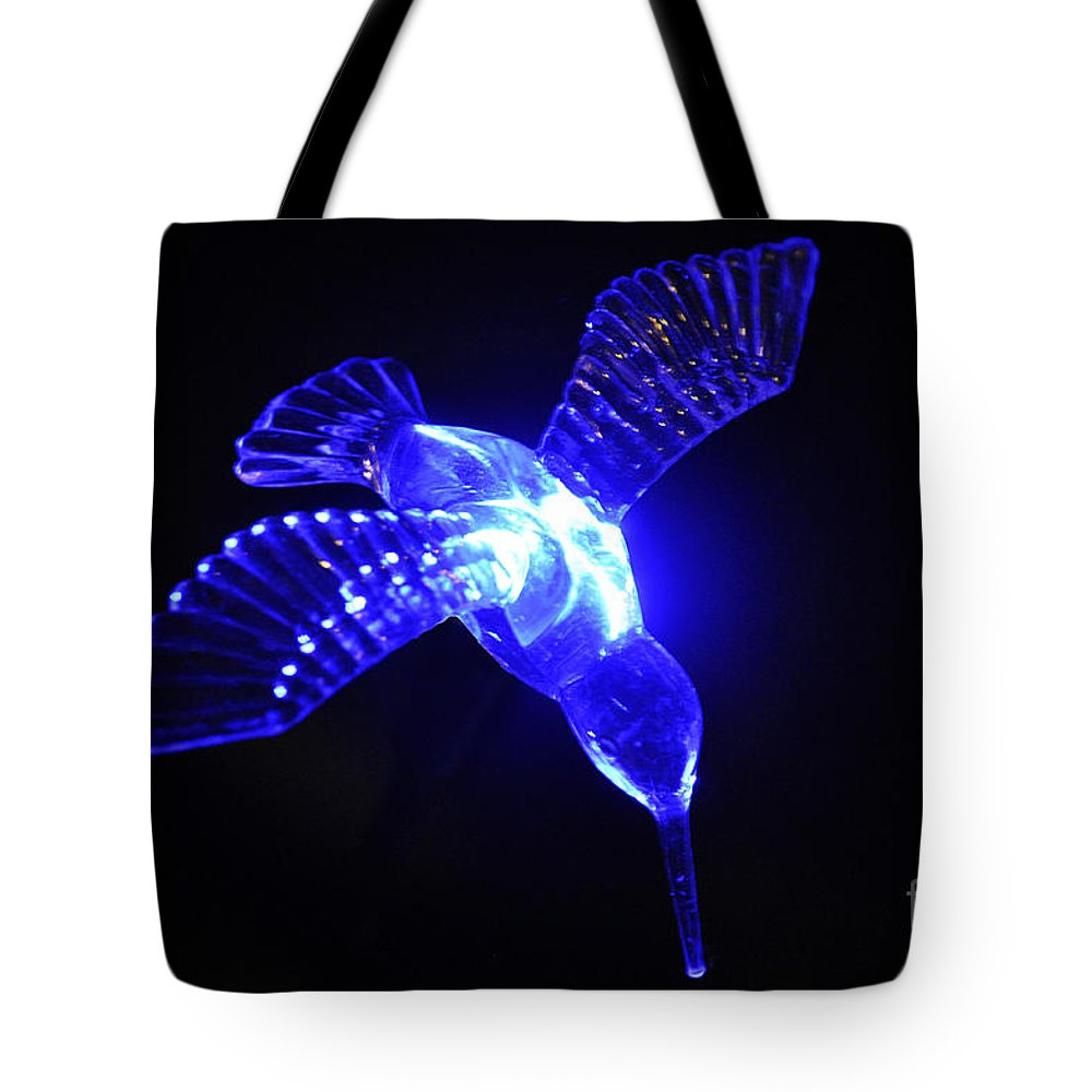 Clay Tote Bag featuring the photograph Humming Bird Light by Clayton Bruster
