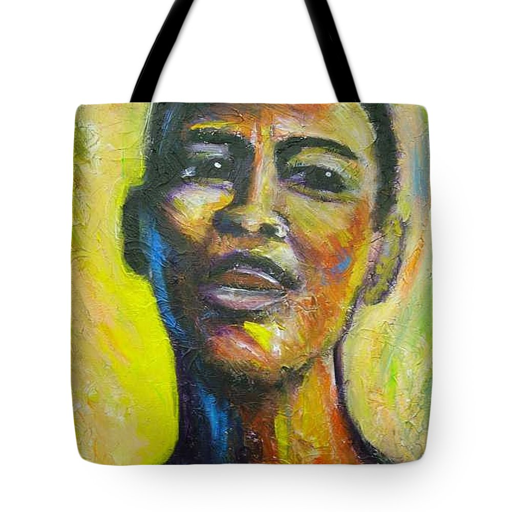 Intensity Tote Bag featuring the painting I by Jan Gilmore