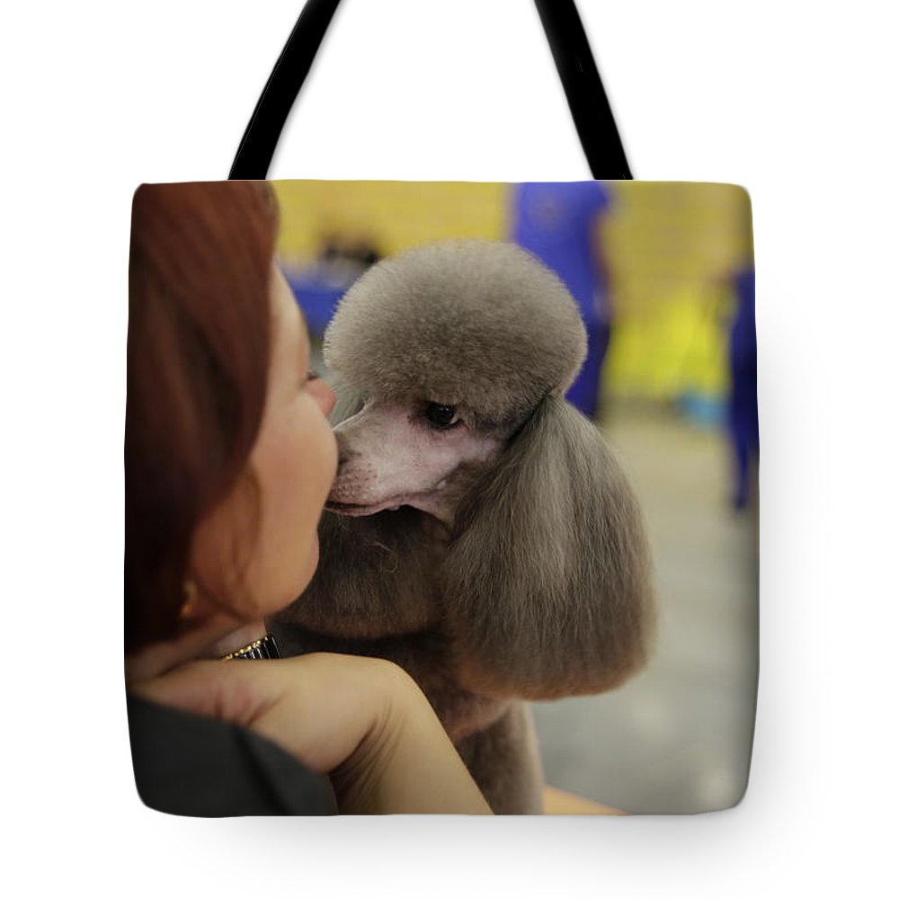 George Westermak Tote Bag featuring the photograph I Really Love My Mistress by George Westermak