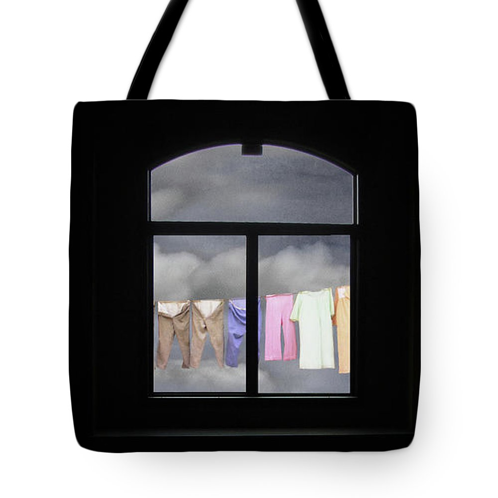 Window Tote Bag featuring the photograph I See The Way by Wayne King