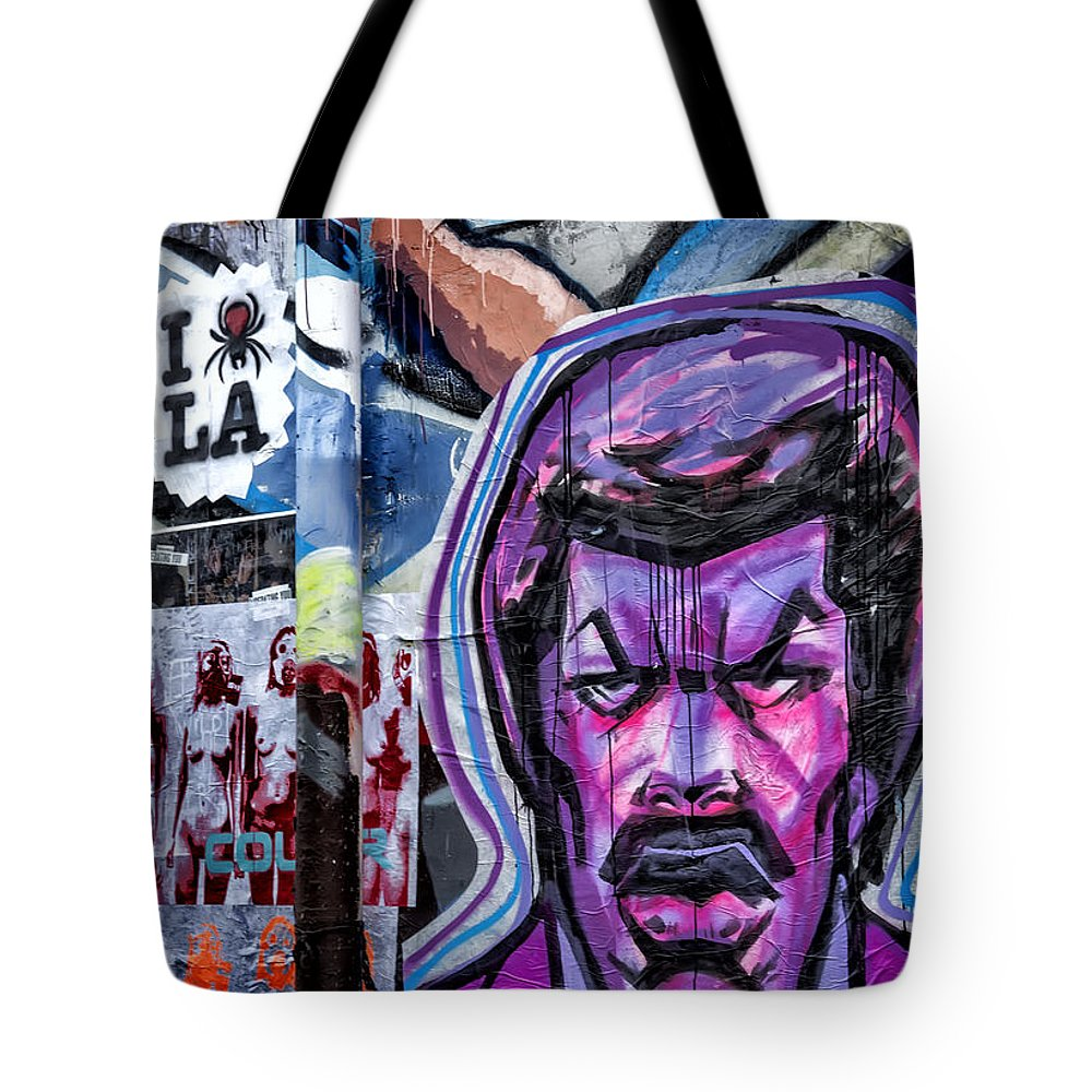 Endre Tote Bag featuring the photograph I Think I Love La by Endre Balogh