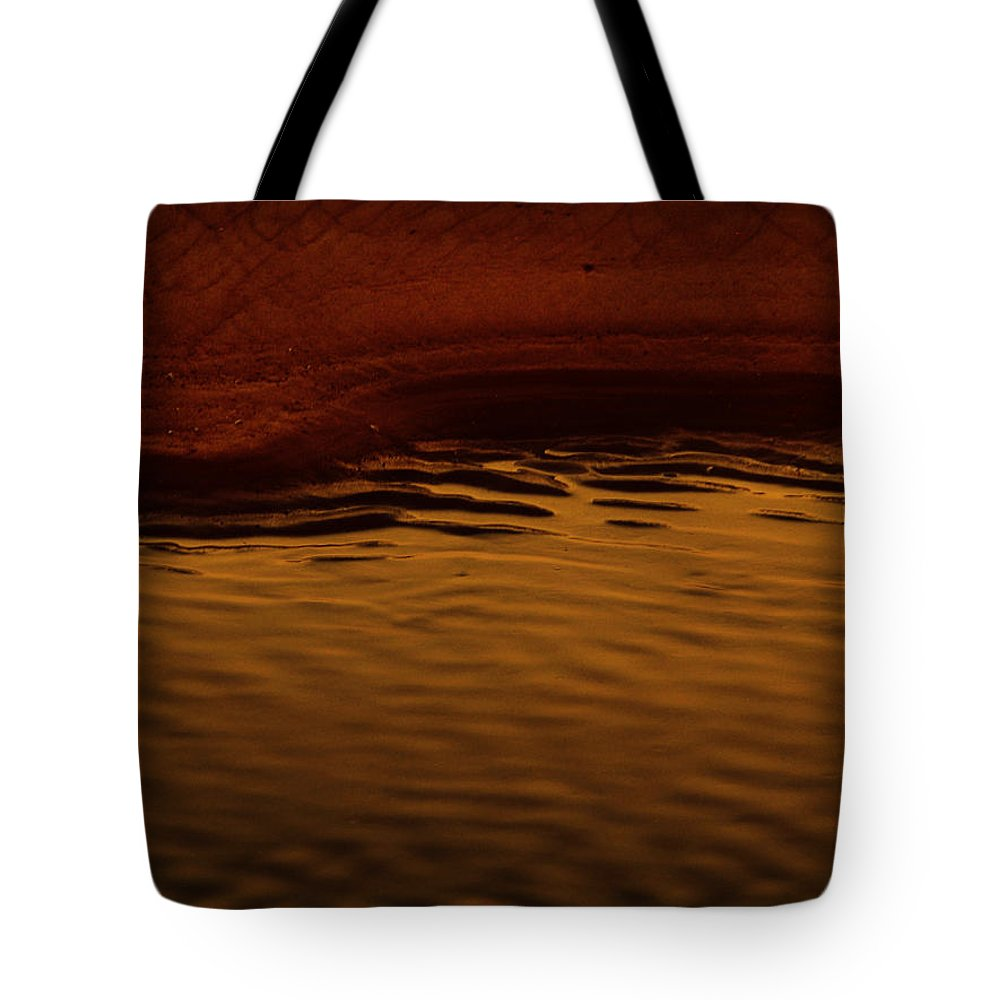 Abstract Tote Bag featuring the photograph I Want To Wake Up Where You Are by Dana DiPasquale