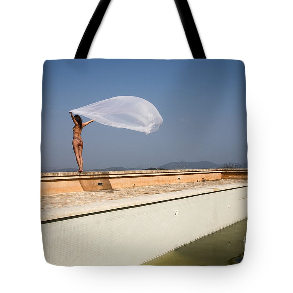Sensual Tote Bag featuring the photograph I Will Fly To You by Olivier De Rycke