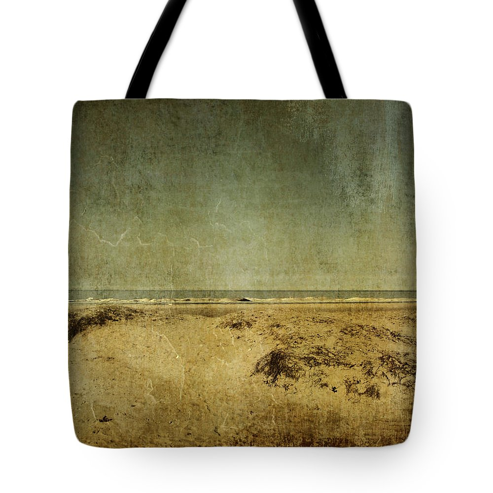 Beach Tote Bag featuring the photograph I Wore Your Shirt by Dana DiPasquale