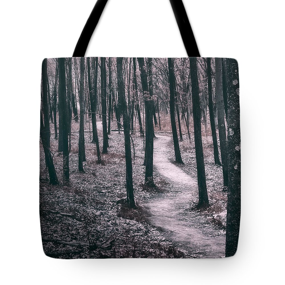 Forest Tote Bag featuring the photograph Ice Age Trail Near Lapham Peak by Scott Norris