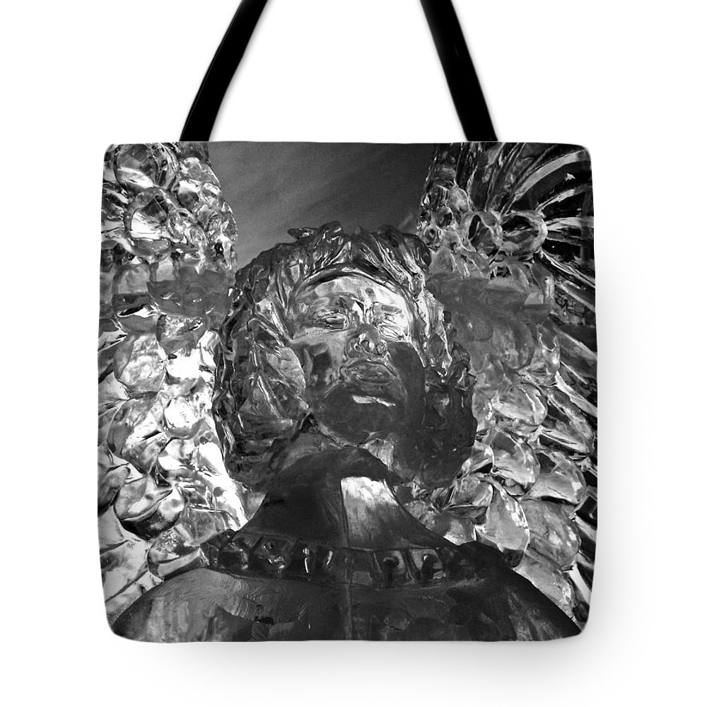 North Amrica Tote Bag featuring the photograph Ice Angel by Juergen Weiss