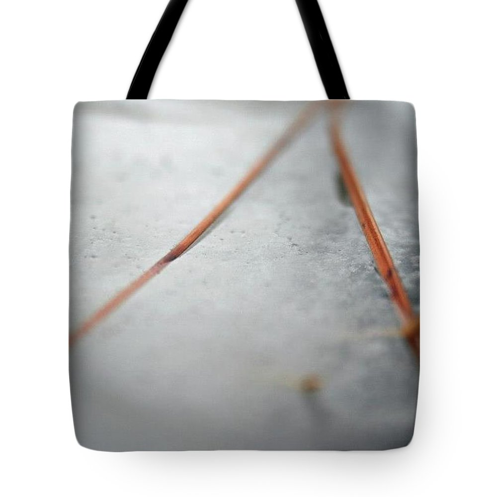 Tote Bag featuring the photograph ICE by Brandi Nierman