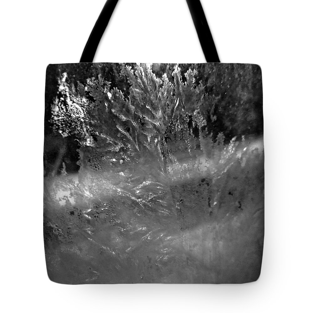 Tote Bag featuring the photograph Ice Crystals by Jessica Olney