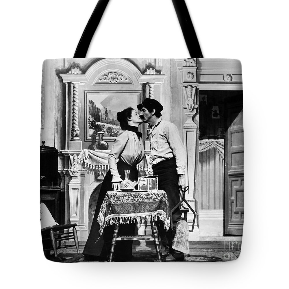 1905 Tote Bag featuring the photograph Iceman, C1905 by Granger