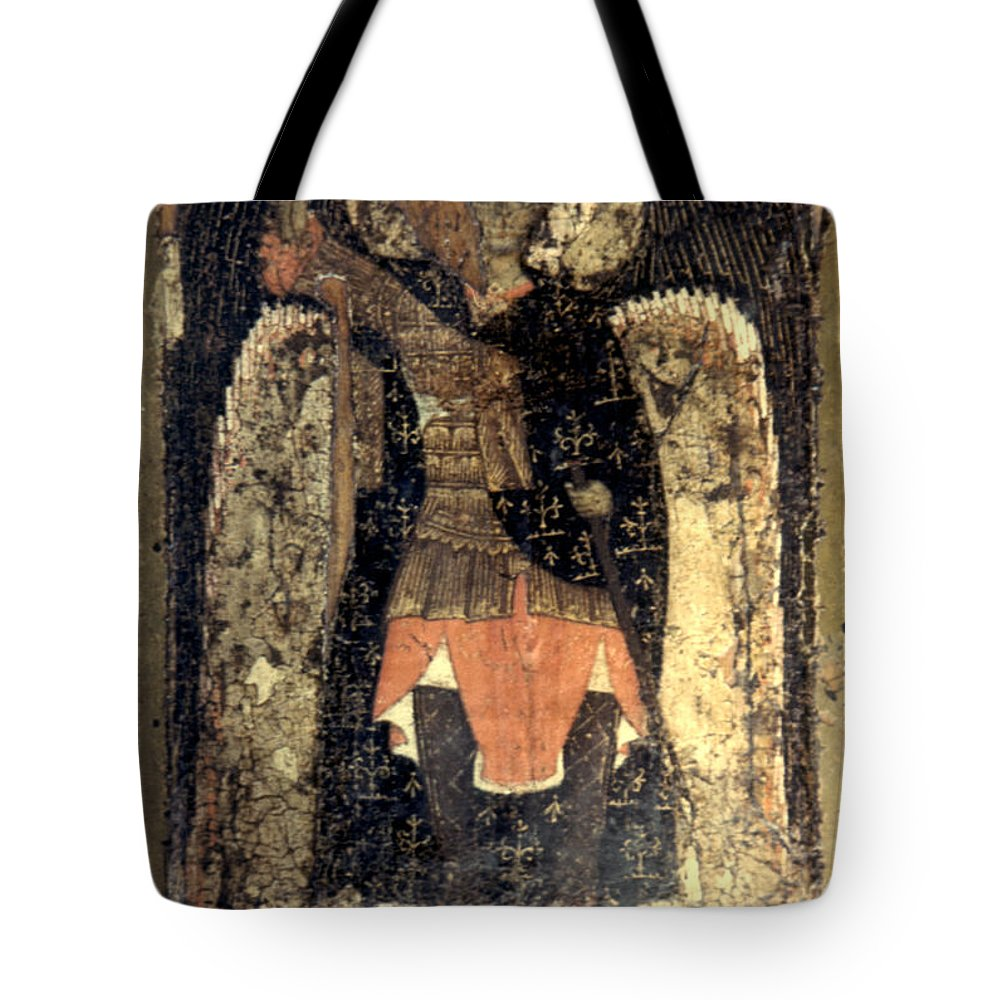 13th Century Tote Bag featuring the photograph Icon: Assumption Cathedral by Granger