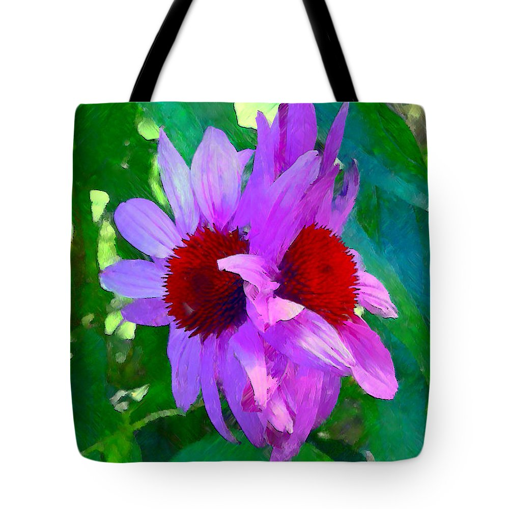 Ebsq Tote Bag featuring the photograph Identical Twins by Dee Flouton
