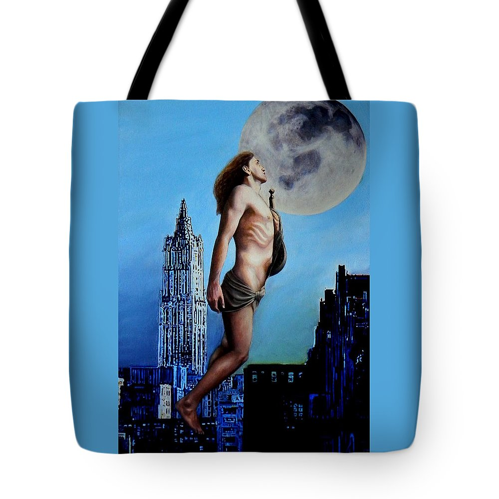 Painting Tote Bag featuring the painting Idyll by Ricardo Giraldez