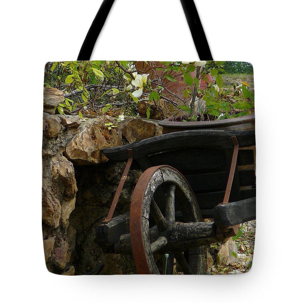 Pushcart Tote Bag featuring the photograph Idylle by Dagmar Batyahav