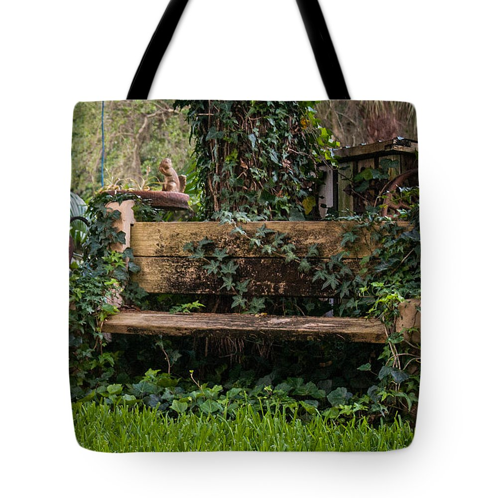 Antiques Tote Bag featuring the photograph If I Could Tell A Story by Edie Ann Mendenhall