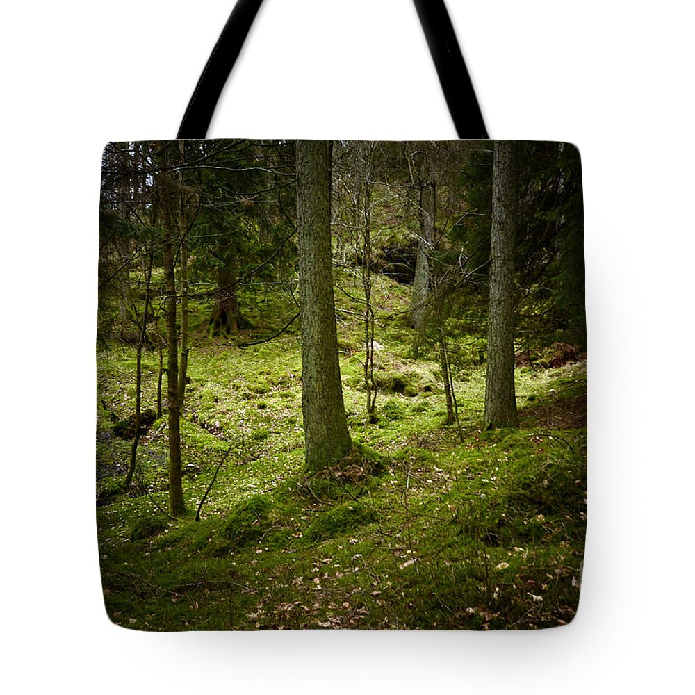 Tarn Hows Tote Bag featuring the photograph If You Go Down..................... by Smart Aviation