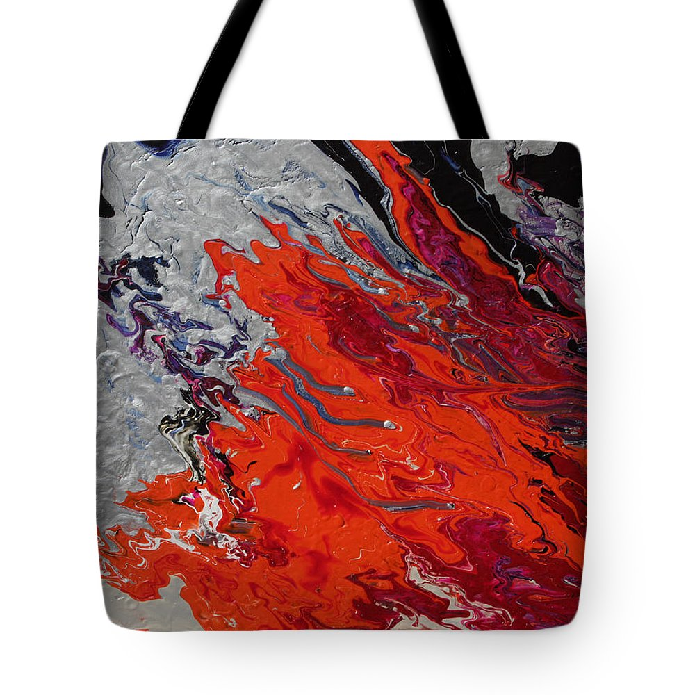 Fusionart Tote Bag featuring the painting Ignition by Ralph White