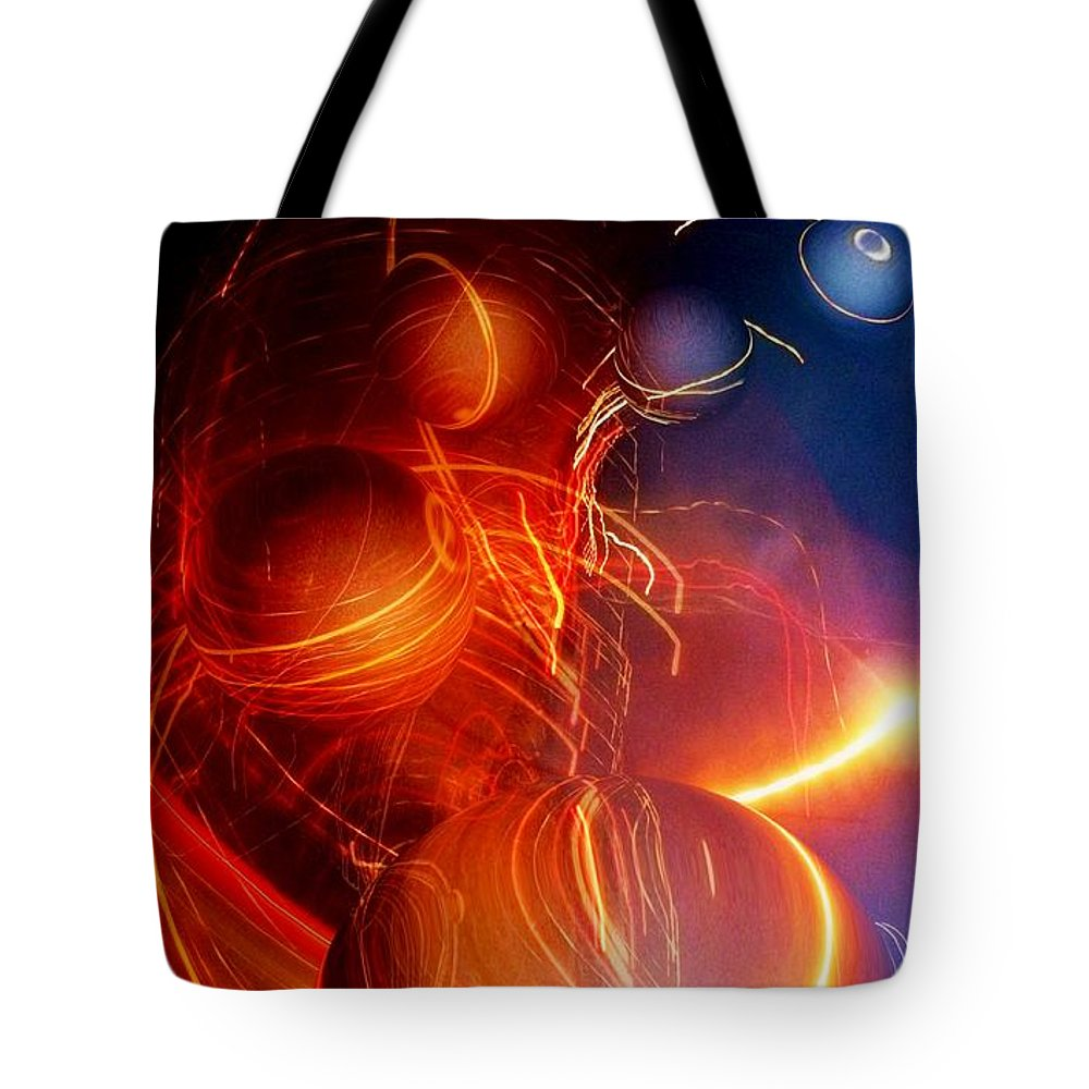 Colorful Tote Bag featuring the photograph Ignore The Static by Dale Crum