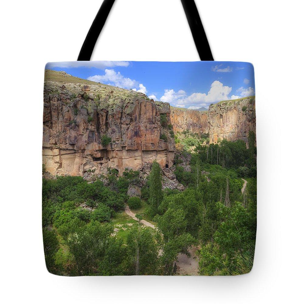 Ihlara Valley Tote Bag featuring the photograph Ihlara Valley - Turkey by Joana Kruse