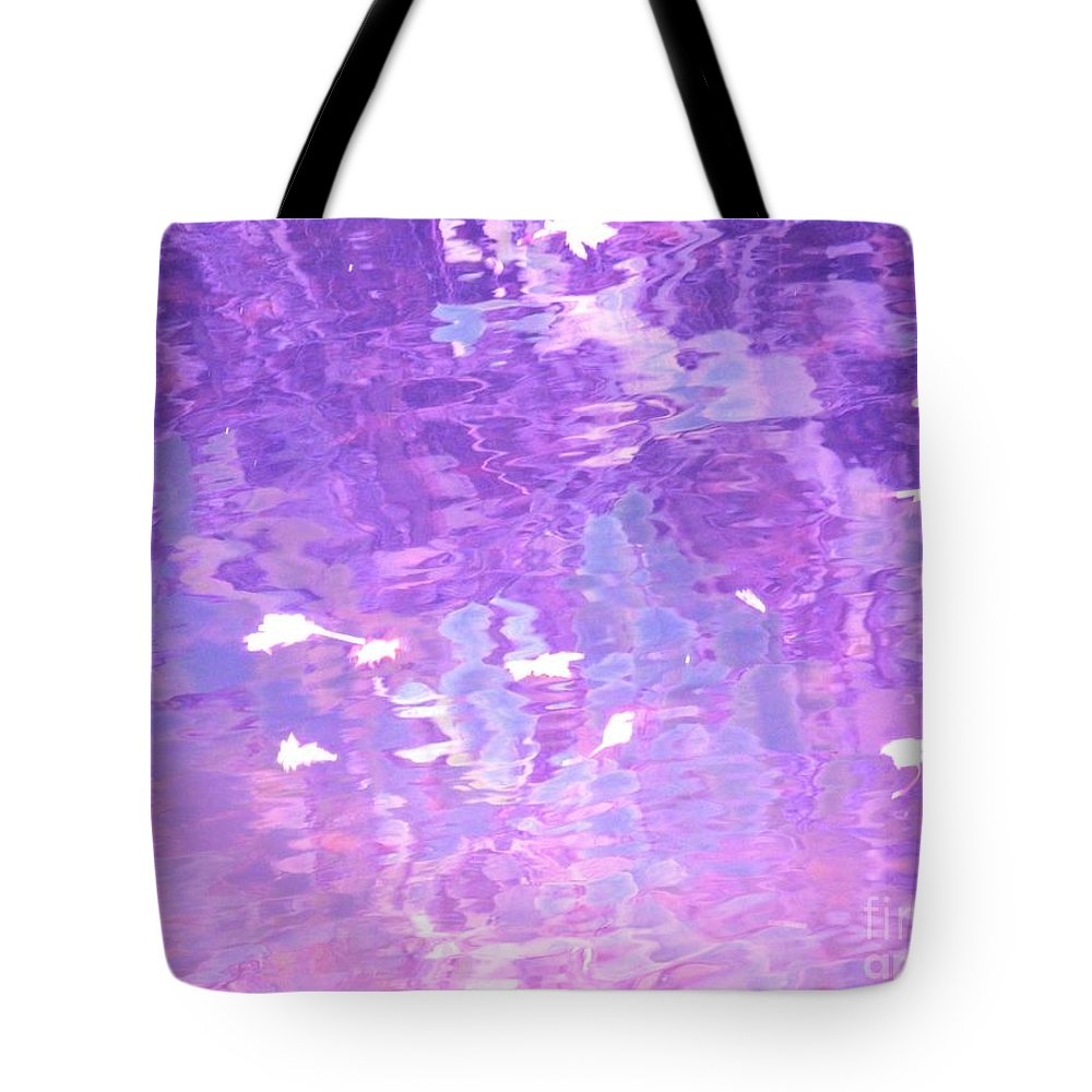Abstract Tote Bag featuring the photograph Illusions by Sybil Staples