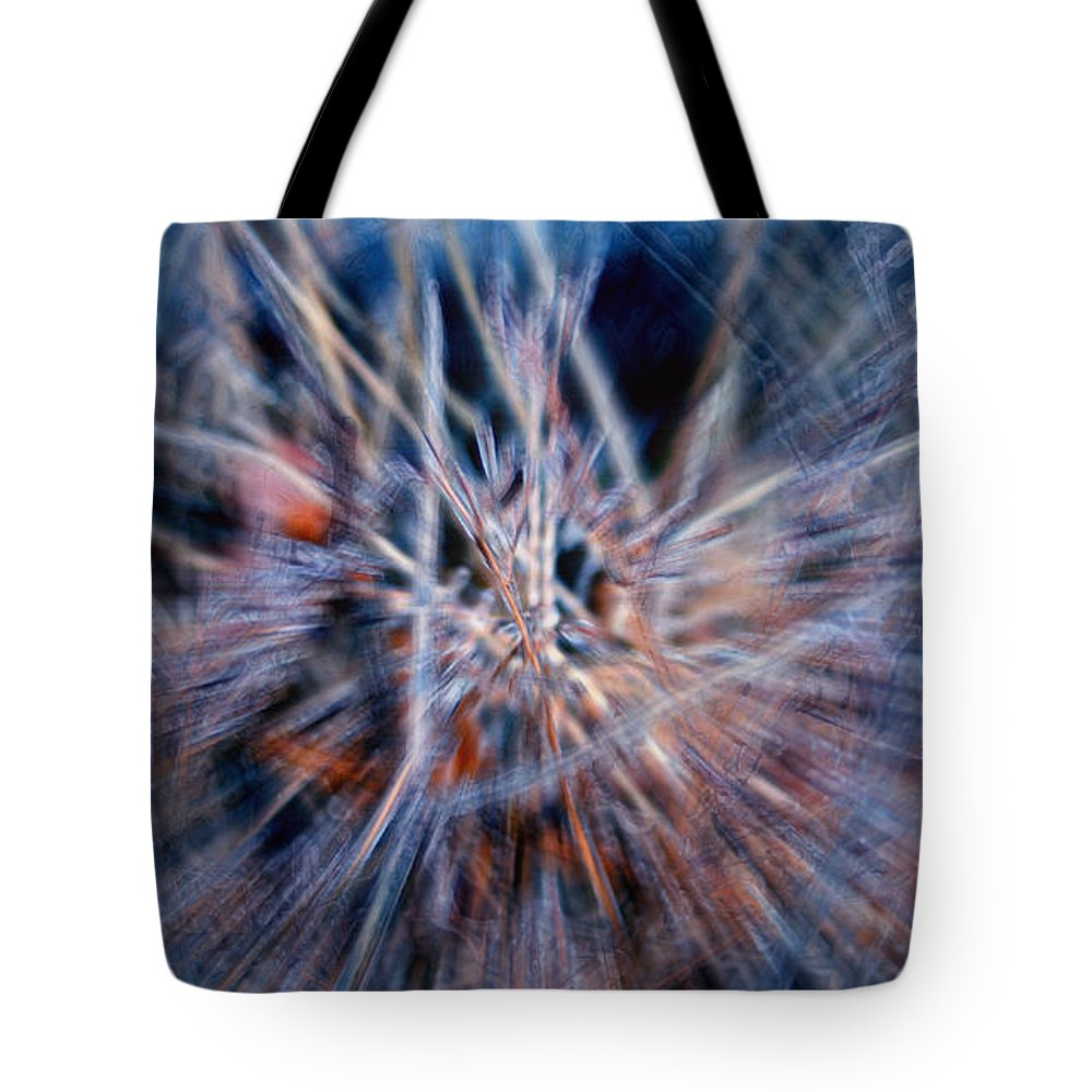 Abstracts Tote Bag featuring the digital art I'm Dreaming by Linda Sannuti