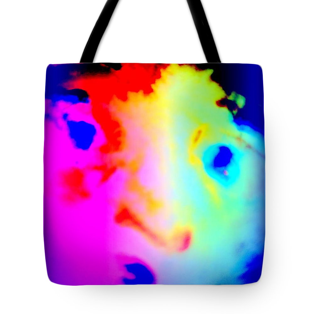 Troll Tote Bag featuring the photograph I'm Like A Bird Flying With My Own Wings by Hilde Widerberg