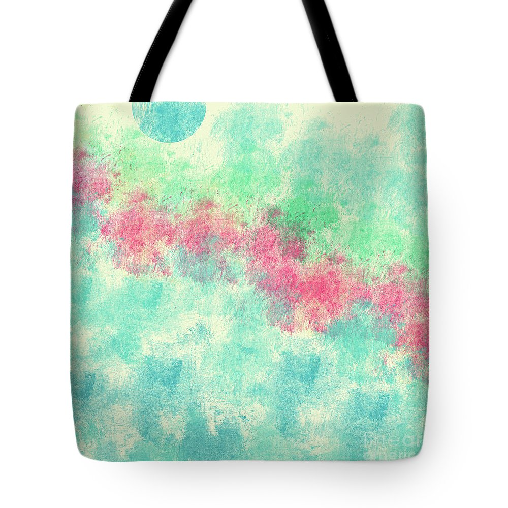 Aerosol Digital Art Tote Bags