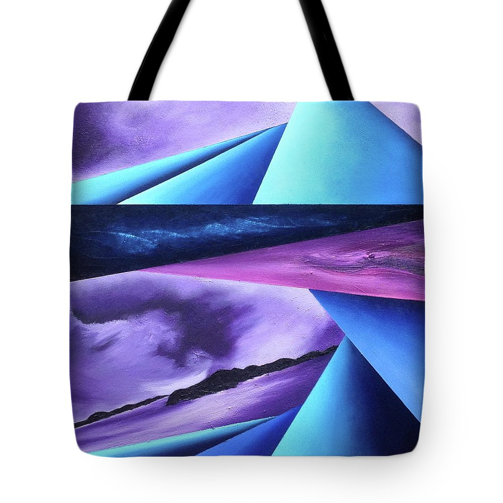 Tote Bag featuring the painting Immense of teh Universe II by Ara Elena