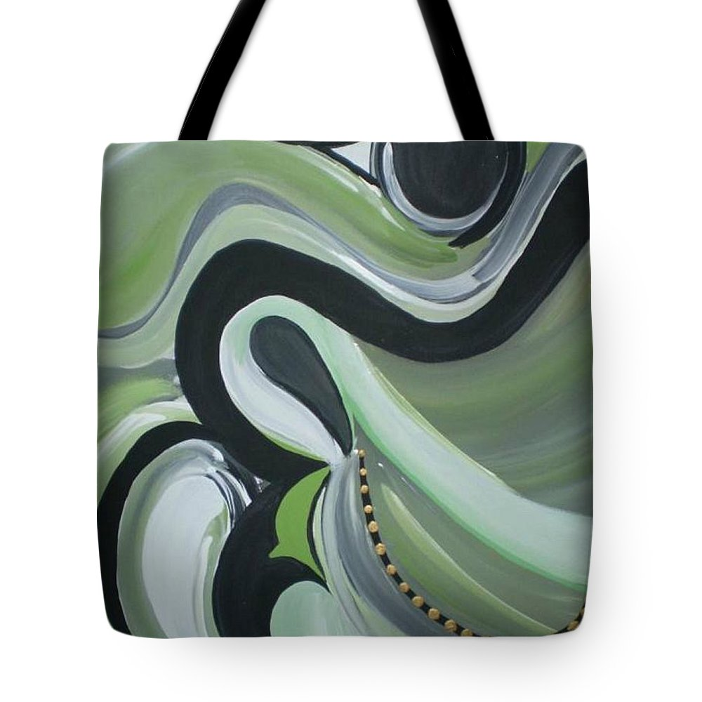 Faith Tote Bag featuring the painting Immovable by Kelly Turner