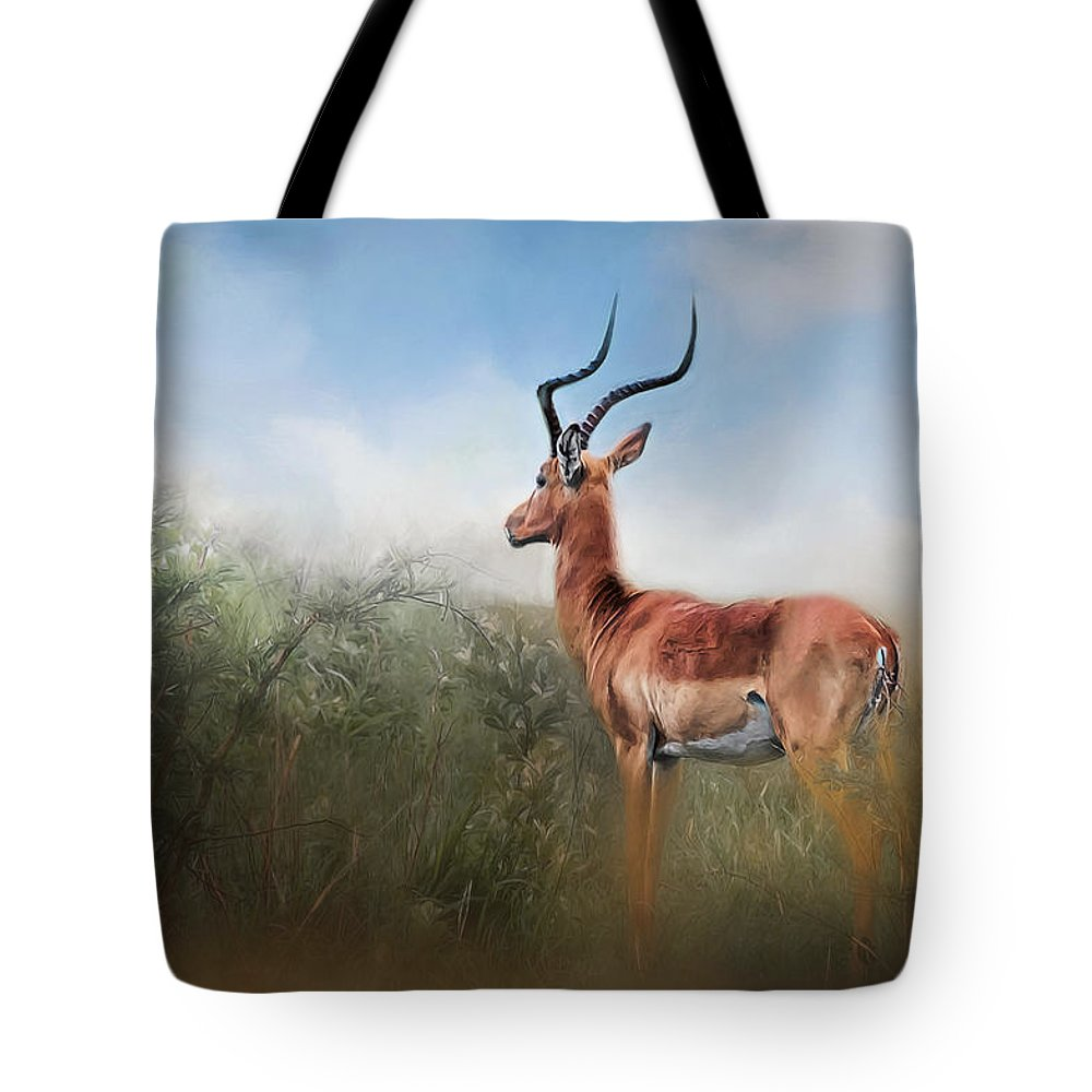 Adult Tote Bag featuring the photograph Impala by Maria Coulson