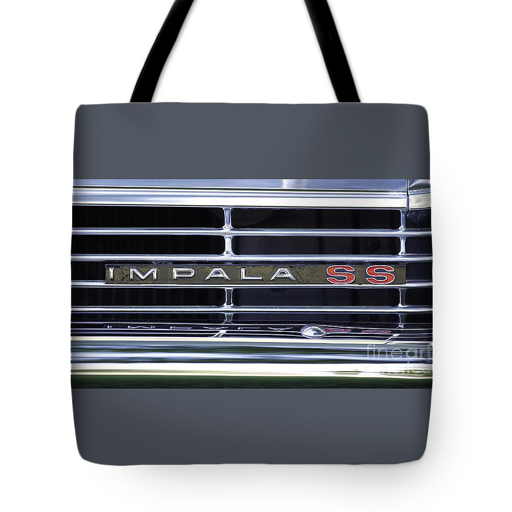 Chevy Tote Bag featuring the photograph Impala Ss by Richard Lynch