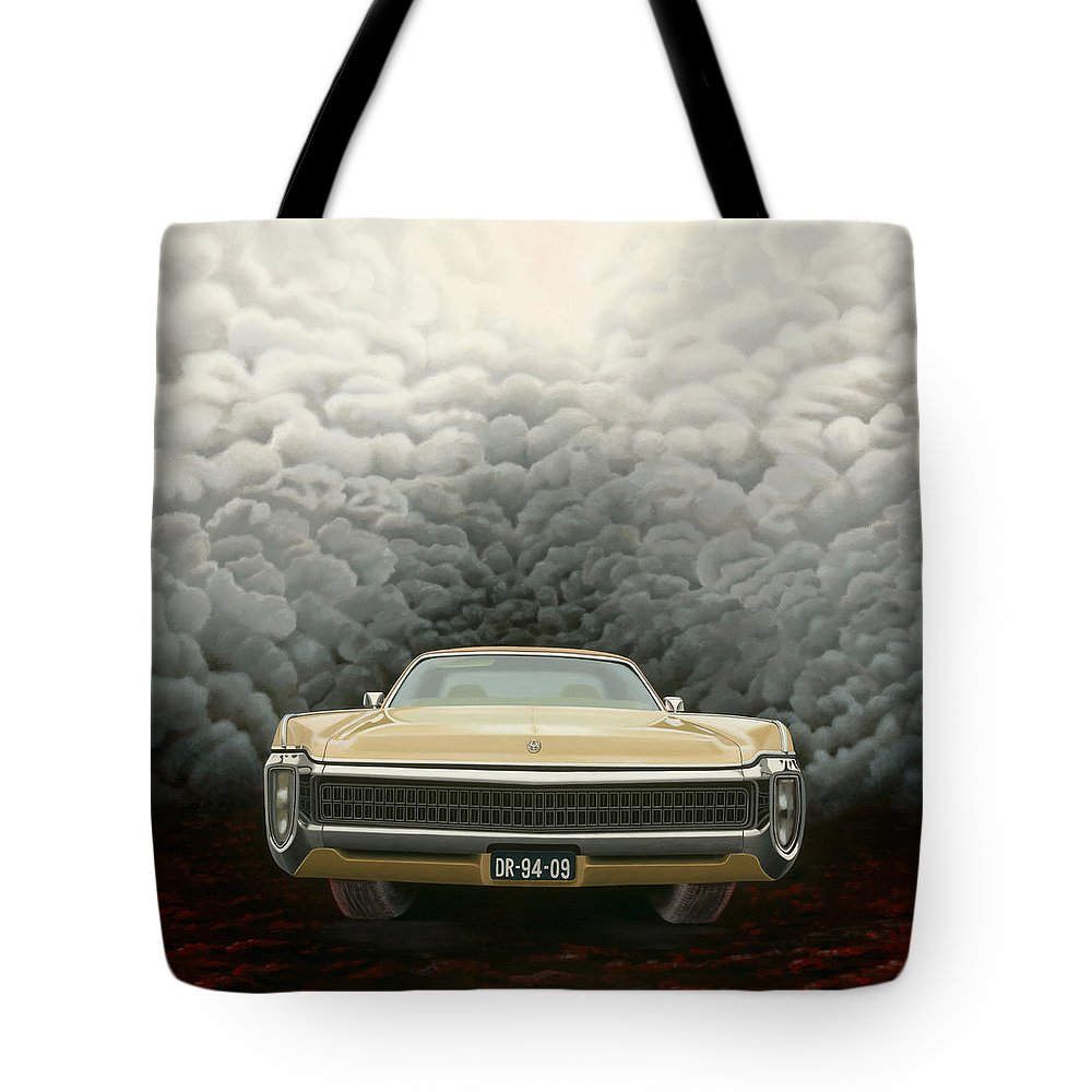 Surreal Tote Bag featuring the painting Imperial by Patricia Van Lubeck