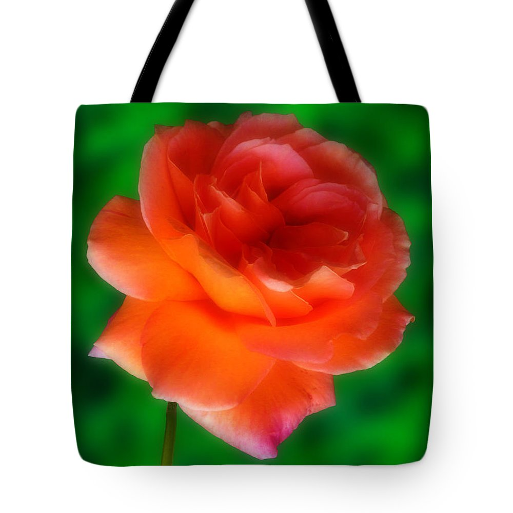 Rose Tote Bag featuring the photograph Impossible Rose by Mark Blauhoefer