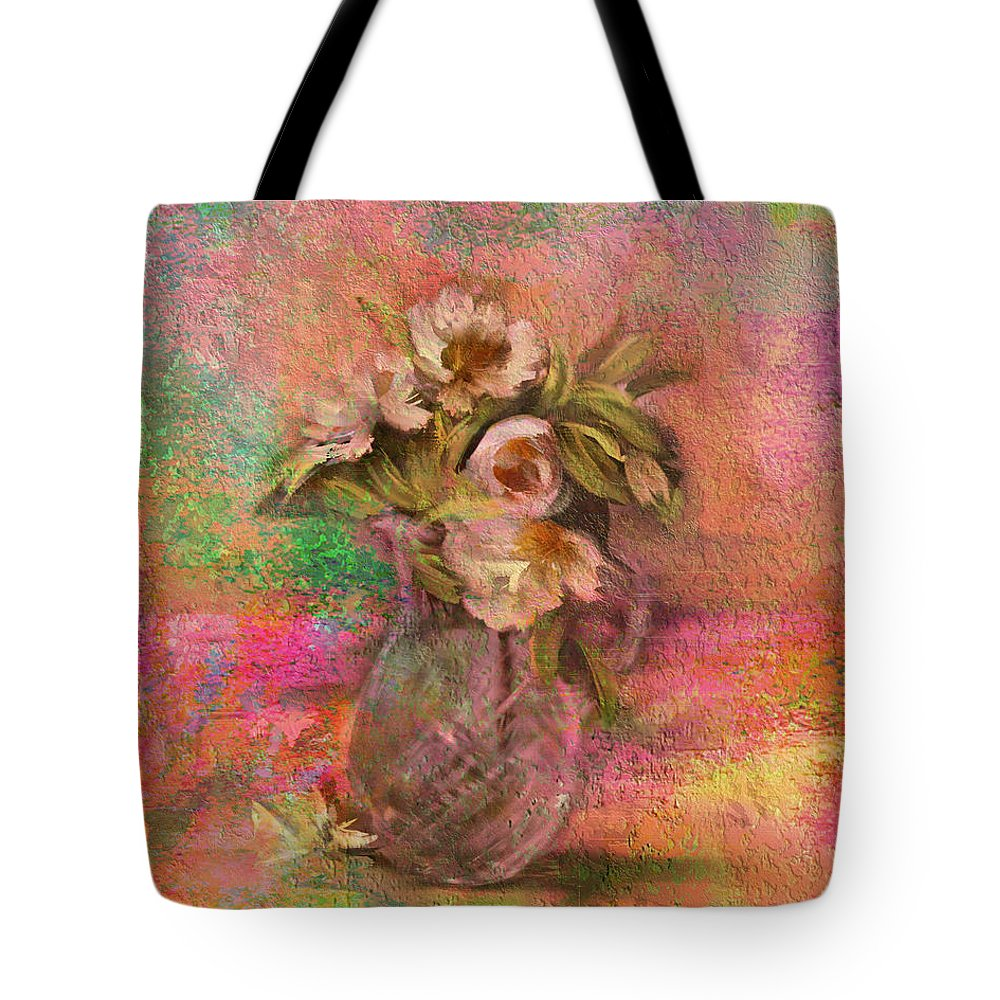 Impressionism Tote Bag featuring the photograph Impressionistic Still Life by Carla Parris