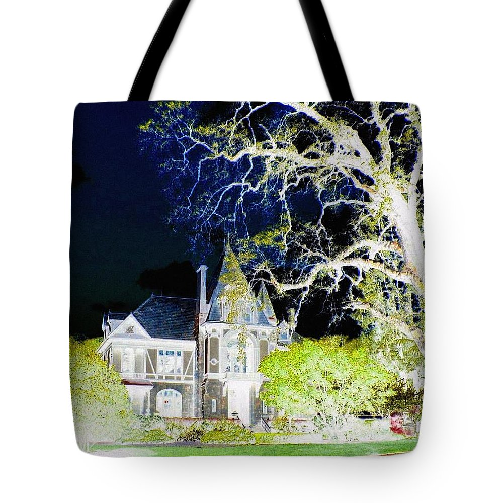 Impressions Tote Bag featuring the digital art Impressions 9 by Will Borden