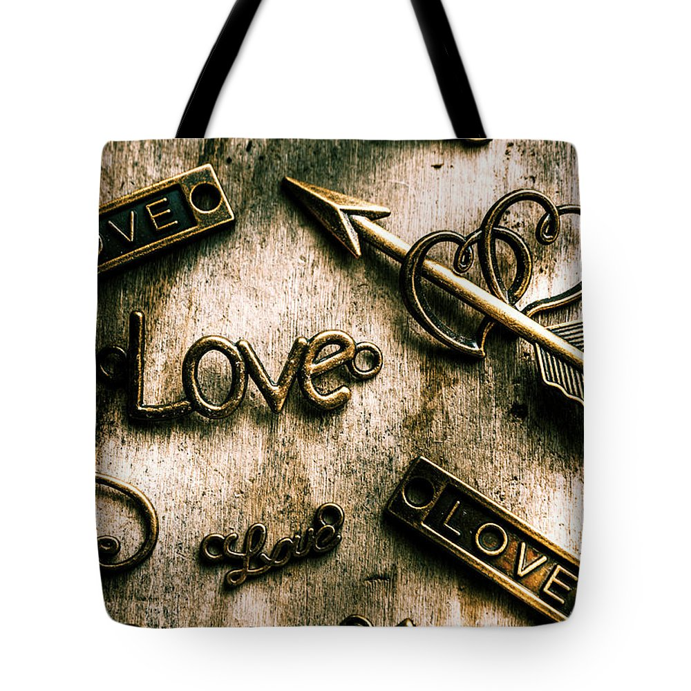 Charming Tote Bag featuring the photograph In Contrast Of Love And Light by Jorgo Photography - Wall Art Gallery