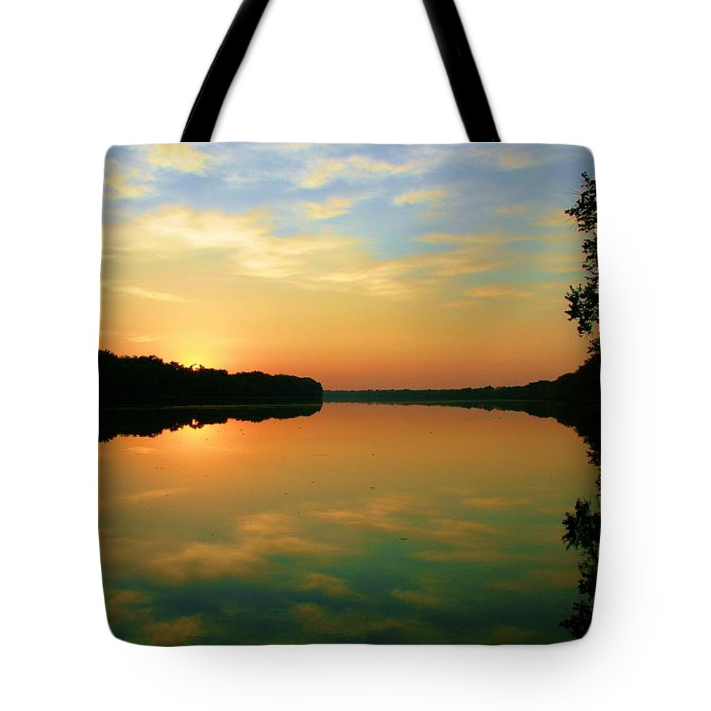 Landscape Tote Bag featuring the photograph In Faith by Mitch Cat